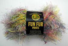 Lion Brand Yarn Fun Fur Prints Polyester Eyelash Yarn - 1 Skein - Confetti #206