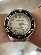 Aragon Divemaster NH36 Automatic Full Lume Dial 50mm Watch A054