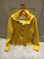 Abercrombie and Fitch para Hombre Amarillo Con Capucha Muscle Fit Size Large