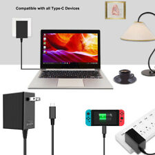 Power Supply AC Adapter Wall Charger For Nintendo Switch Dock & Pro Controller