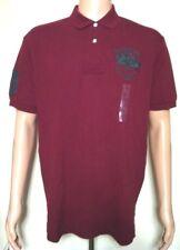 Ralph Lauren Uomo Vino Viola Rosso scuro T-shirt Polo S