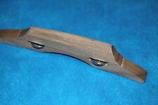 Grover Economy Hardwood Adjustable Archtop Bridge, Natural Finish, MPN 7919