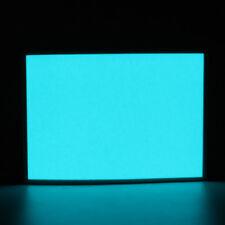Blue A6 EL Panel Electroluminescent Sheet Neon Tape + Actuator 12V 105mm x 148mm