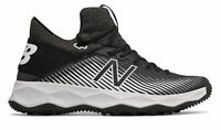 New Balance Men's FreezeLX 2.0 Turf Lacrosse Shoes Black with White