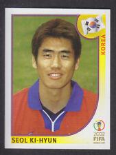 Panini - Korea Japan 2002 World Cup - # 256 Seol Ki-Hyun - South Korea