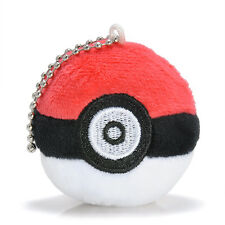 Fancy&Fantasy Pokemon Poke Ball Plush Doll Soft Stuffed Toy Handbag Key Chain