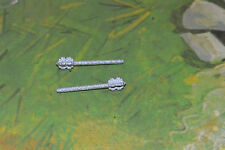 DaBro Ritter Morgenstern 2 silver Maces fits Araber knights Timpo 1/32