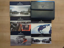 Maserati Quattroporte Owners Handbook/Manual and Wallet