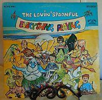 The Lovin' Spoonful -Everything Playing-1968 KS #KLPS 8061 Rock Vinyl LP-EX/EX