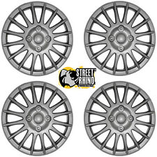 "Chevrolet Kalos 15"" Lightning Silver Universal Car Wheel Trim Covers"