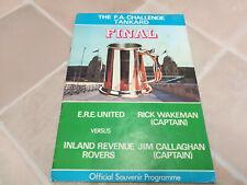 Signed copy Rick Wakeman Tour Programme UK No Earthly Connection 1976 program