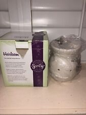 "New In Box Scentsy Warmer ""Heirloom"" Full Size~discontinued"