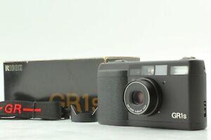 { Nahe Mint W / Box Kapuze} Ricoh GR1s Schwarz 28mm f2.8 LCD Partiell Werke