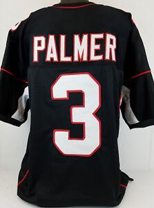Carson Palmer Unsigned Custom Sewn Black Football Jersey Size - L, XL, 2XL
