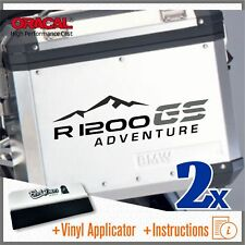 2x R1200GS ADVENTURE black/grey BMW PEGATINA ADESIVI AUTOCOLLANT STICKERS