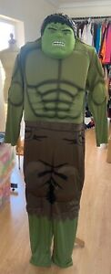 Rubies Men's Deluxe Muscle chest Standard size Hulk costume Brand new