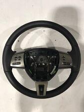Genuine Jaguar XF Black Leather Steering Wheel