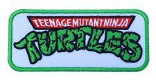 """TMNT Patch Embroidered Badge Teenage Mutant Ninja Turtles 3"""" Cosplay Costume Bag"""