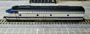 Life-Like N Scale 7216 E8 Locomotive RF&P 1006 DC Looks and Runs Great