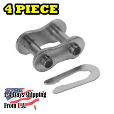 80 SS Stainless Steel Roller Chain Connecting Link (4PCS)