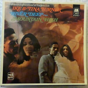 IKE AND TINA TURNER LP RIVER DEEP MOUNTAIN HIGH 1971 GERMANY REISSUE VG++/VG++