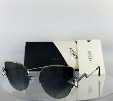 a9b1b2d8d2b0 ... Gold Azure Metal Cat-Eye Sunglasses Blue Lens.  258.99. Brand New  Authentic Fendi FF 0242 S Sunglasses KJ19O Silver 52mm 0242