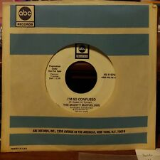 Mighty Marvelows Rare Soul 45 I'm Without a Girl / I'm So Confused ABC 11073