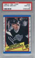 1989-90 O-Pee-Chee #325 Wayne Gretzky PSA 10 Los Angeles Kings