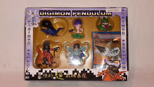 Digimon Pendulum 5 Figuren+Karte Original Bandai Japan 1999 Item 9939A