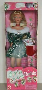 1997 Playline Collector Special Edition FESTIVE SEASON Blonde Barbie
