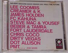 Muzik Magazine Dance Awards 2001 - Vol 2 - The Future - CD