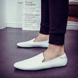 Men Casual Shoes Leather Loafer Shoes Men Shoes Men Flats Shoes Men Shoes
