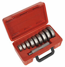 VS7031 Sealey Bearing Race & Seal Driver Set 10pc - Steel