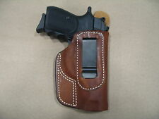 Walther PP 32 IWB Molded Leather Inside Waist Concealed Carry Holster CCW TAN RH