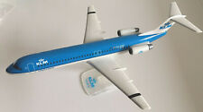 KLM Cityhopper Fokker 100 Maßstab 1:100  Snap Fit Model NEU OVP Modellflugzeug