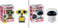 FUNKO POP Disney Pixar Movie Anime figure toys EVE & WALL-E Vinyl Action Figure