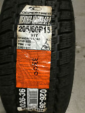 1 New 205 60 15 Cooper Weather Master S/T2 Studdable Snow Tire