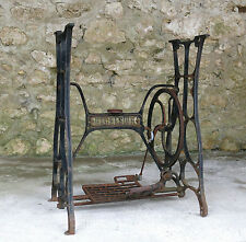 EXCELSIOR, ancien support de machine à coudre, table, loft, indus, DESIGN .