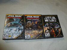 PC GAME LOT STAR WARS EMPIRE AT WAR FORCES OF CORRUPTION EXPANSION BEST CD ROM