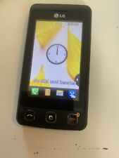 LG Cookie KP500 Black Mobile Phone - Network Unknown