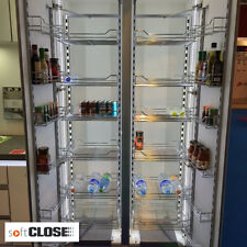 Chef's Pantry Kitchen Larder Unit With Integrated Soft Close To Fit 500mm Unit
