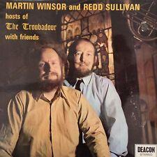 MARTIN WINSOR & REDD SULLIVAN: Hosts of The Troubadour with Friends  1971 LP  EX