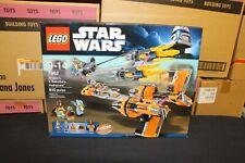 NEW Sealed Box! LEGO 7962 Star Wars Anakin Skywalker and Sebulba's Podracers