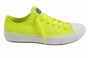 Converse Unisex CT All Star II 150160C Sneakers Volt Green Size UK 3