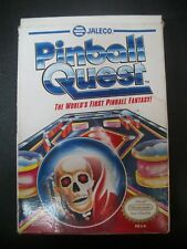 Pinball Quest Complete in Box CIB NES