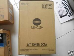Genuine Minolta MT Toner 501A  650g Bottle