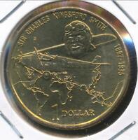 Australia, 1997(s) One Dollar, $1, Elizabeth II (Kingsford Smith) - Ch-Unc