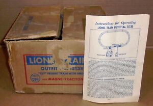 "% Lionel O Trains .. ""EMPTY BOX for Lionel Freight Train Set #1513S"""