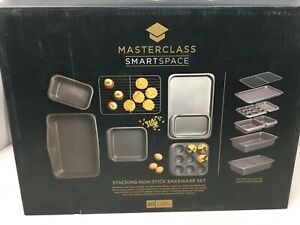 MasterClass Smart Space Non-Stick Carbon Steel Stackable Bakeware Set #929