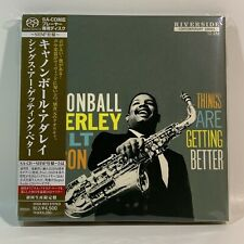Cannonball Adderley - Things Are Getting Better - SHM SACD Super Audio CD Japan